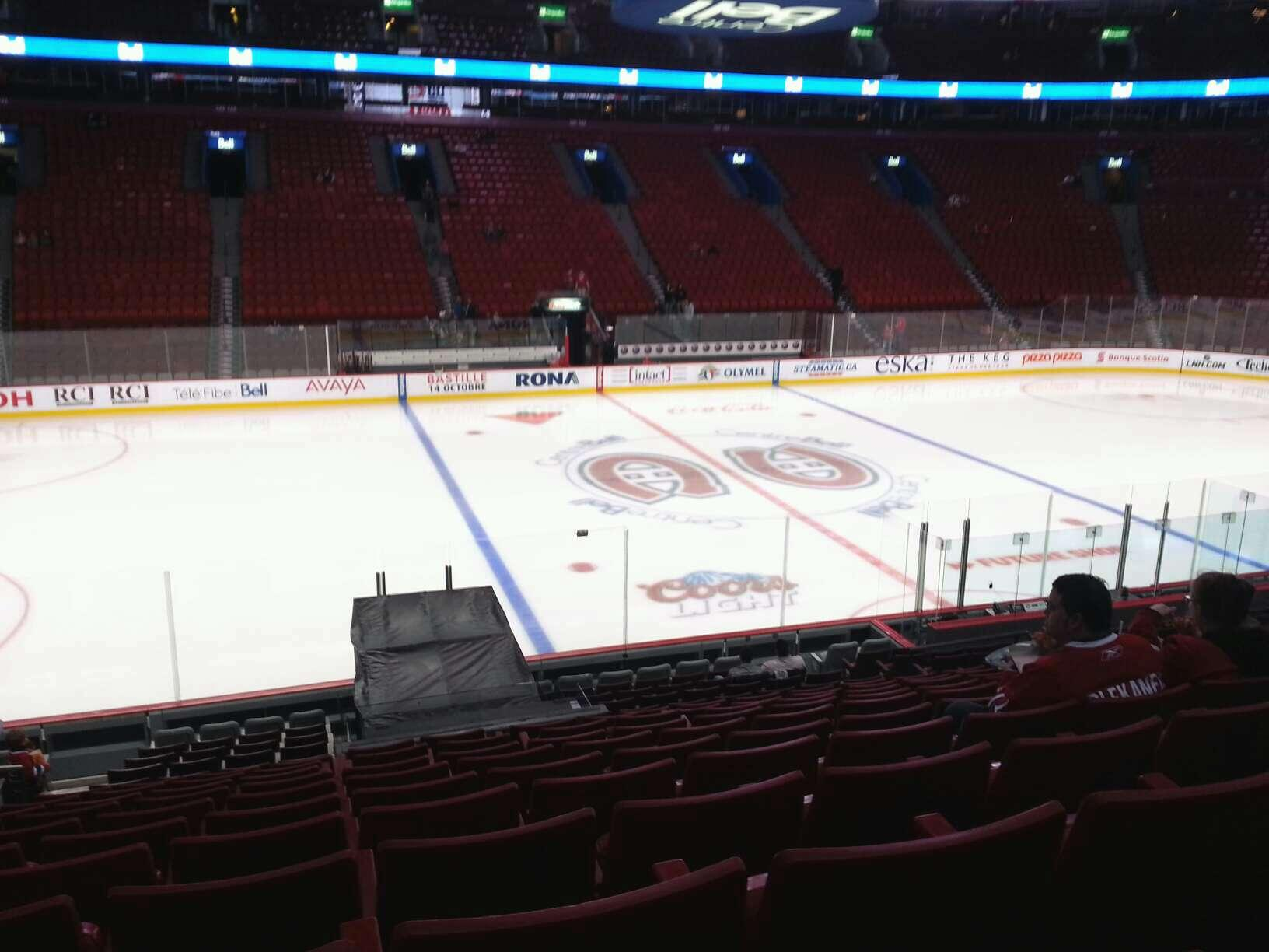 Bell Centre Section 114 - Montreal Canadiens ...