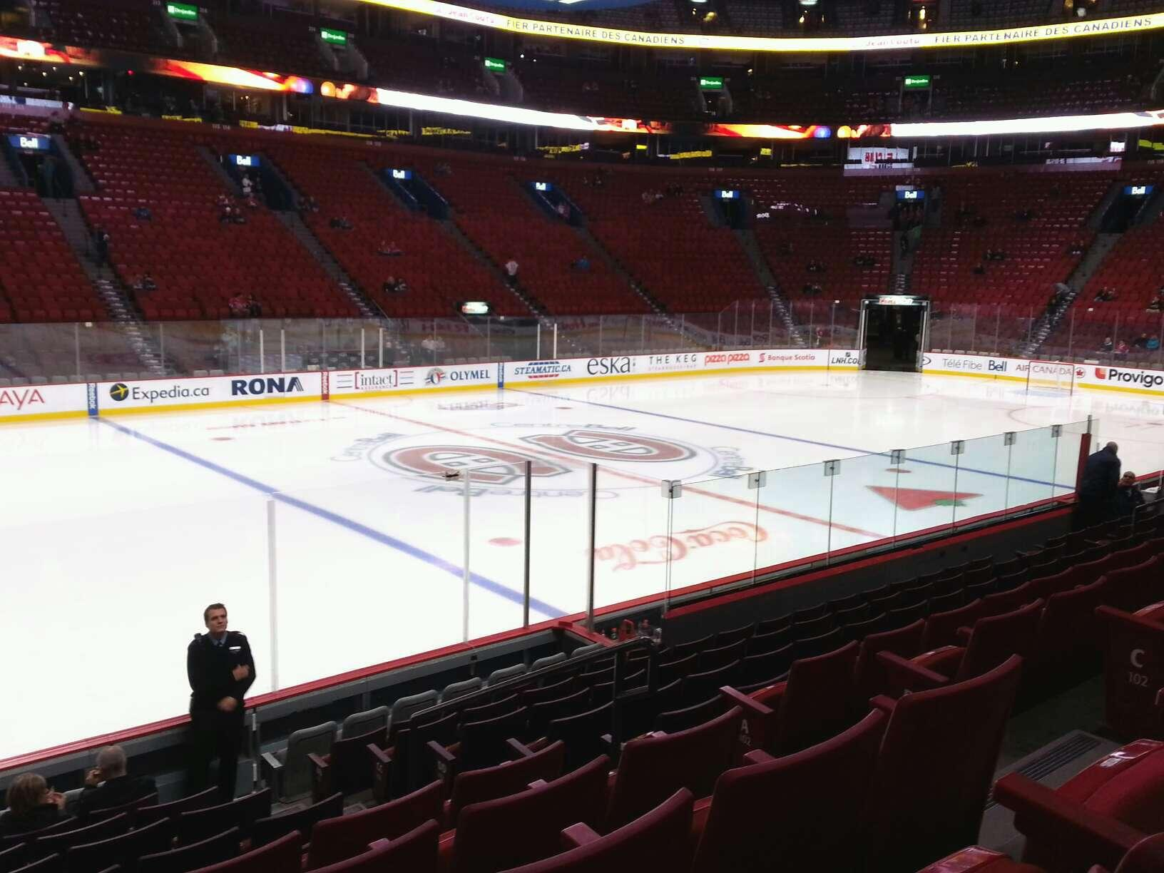 Bell Centre Section 103 - Montreal Canadiens ...