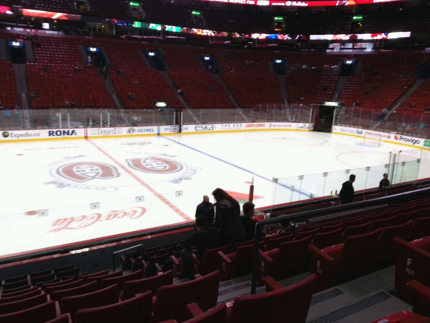 Bell Centre Section 102 Montreal Canadiens