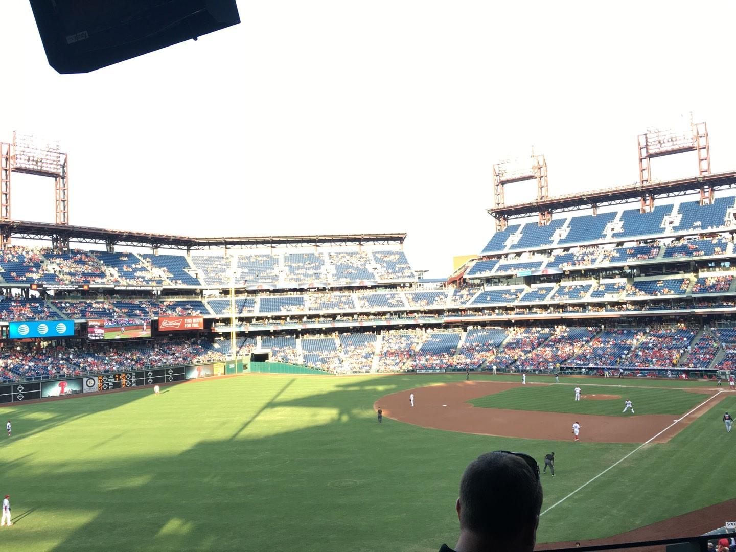 Citizens Bank Park Section Suite 1 Row 2 Seat 1