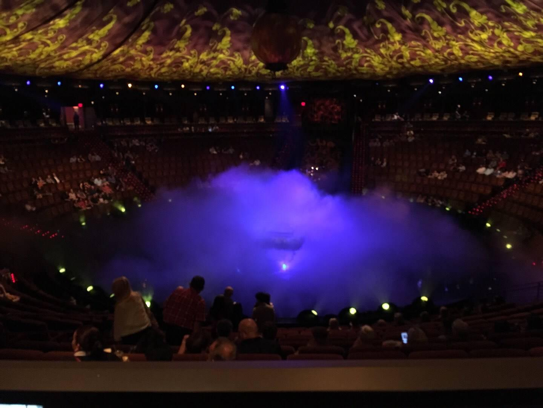 Wynn Theatre Section E Row L Seat 15