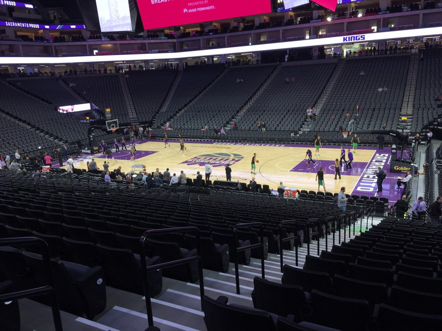 Golden 1 Center Section 105 Row P Seat 14