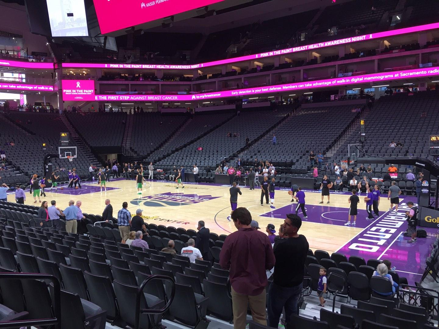 Golden 1 Center Section 118 Row Ff Seat 4