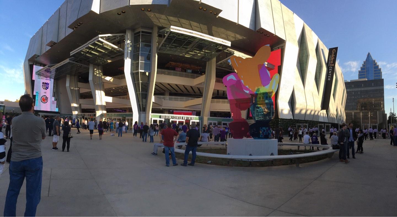 Golden 1 Center Section Outside
