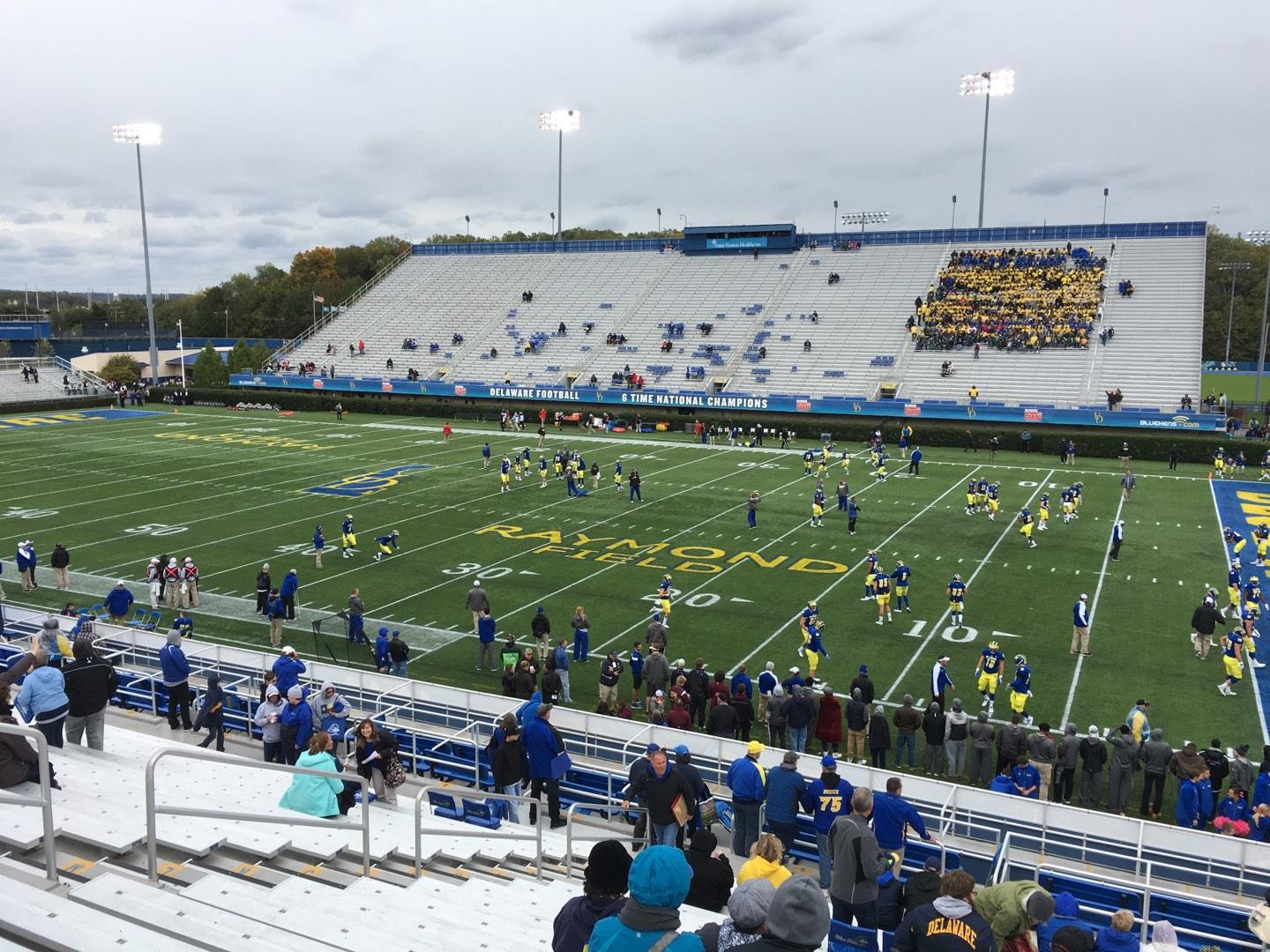 Delaware Stadium Section A Row T Seat 5
