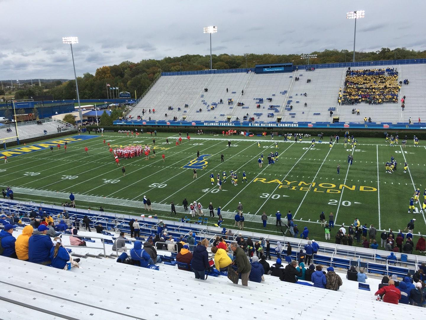 Delaware Stadium Section B Row Jj Seat 12