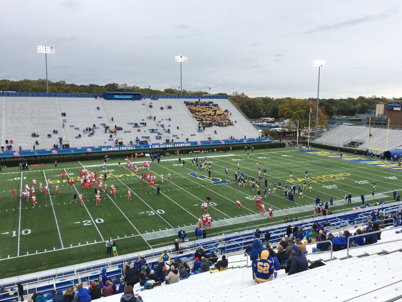 Delaware Stadium Section F Row Ll Seat 20