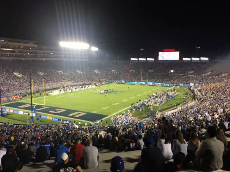 Rose Bowl Section 28-L Row 68 Seat 13