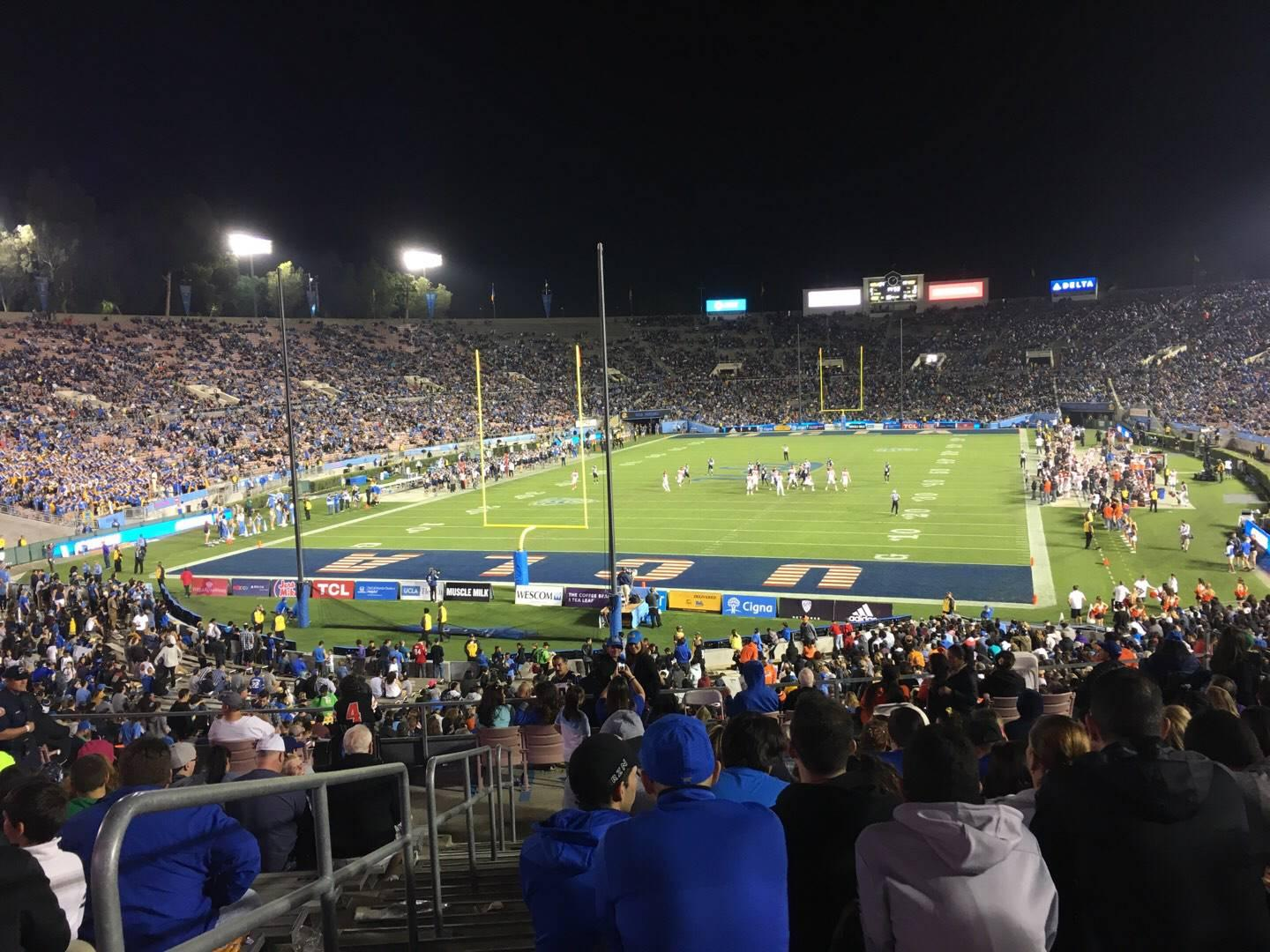 Rose Bowl Section 13-L Row 44 Seat 23