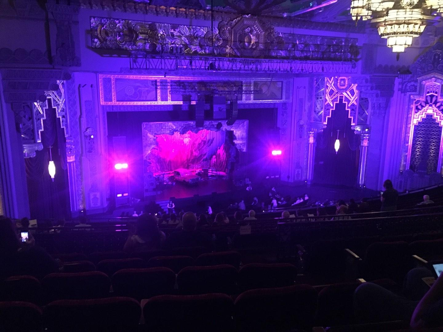 Pantages Theatre (Hollywood) Section Mezzanine L Row Q Seat 9