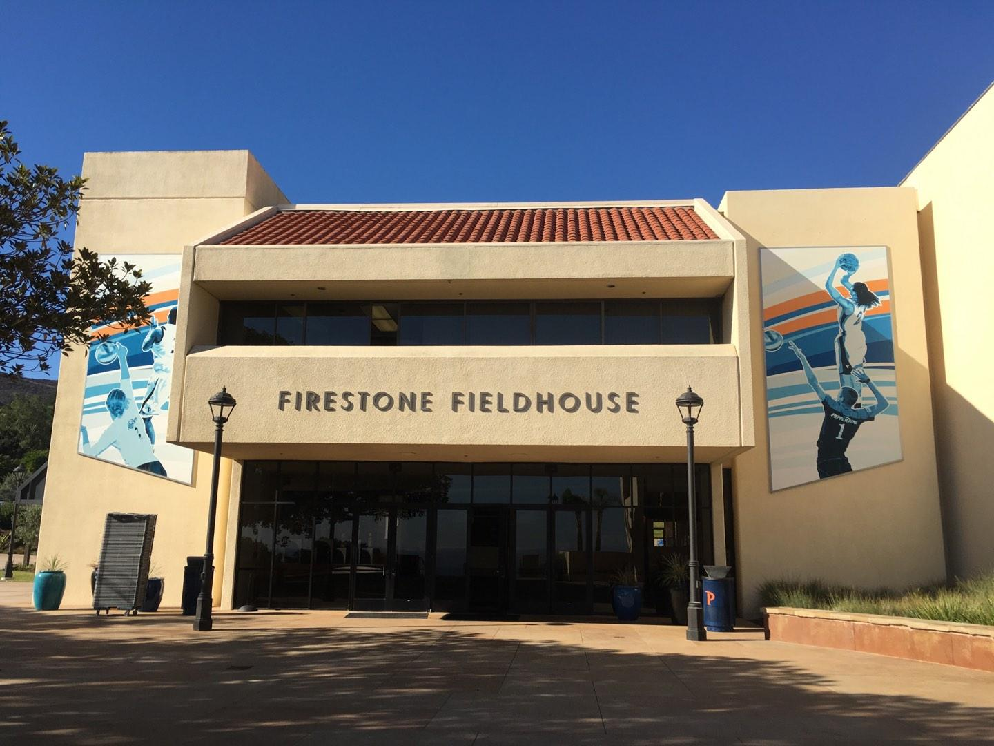 Firestone Fieldhouse Section Outside