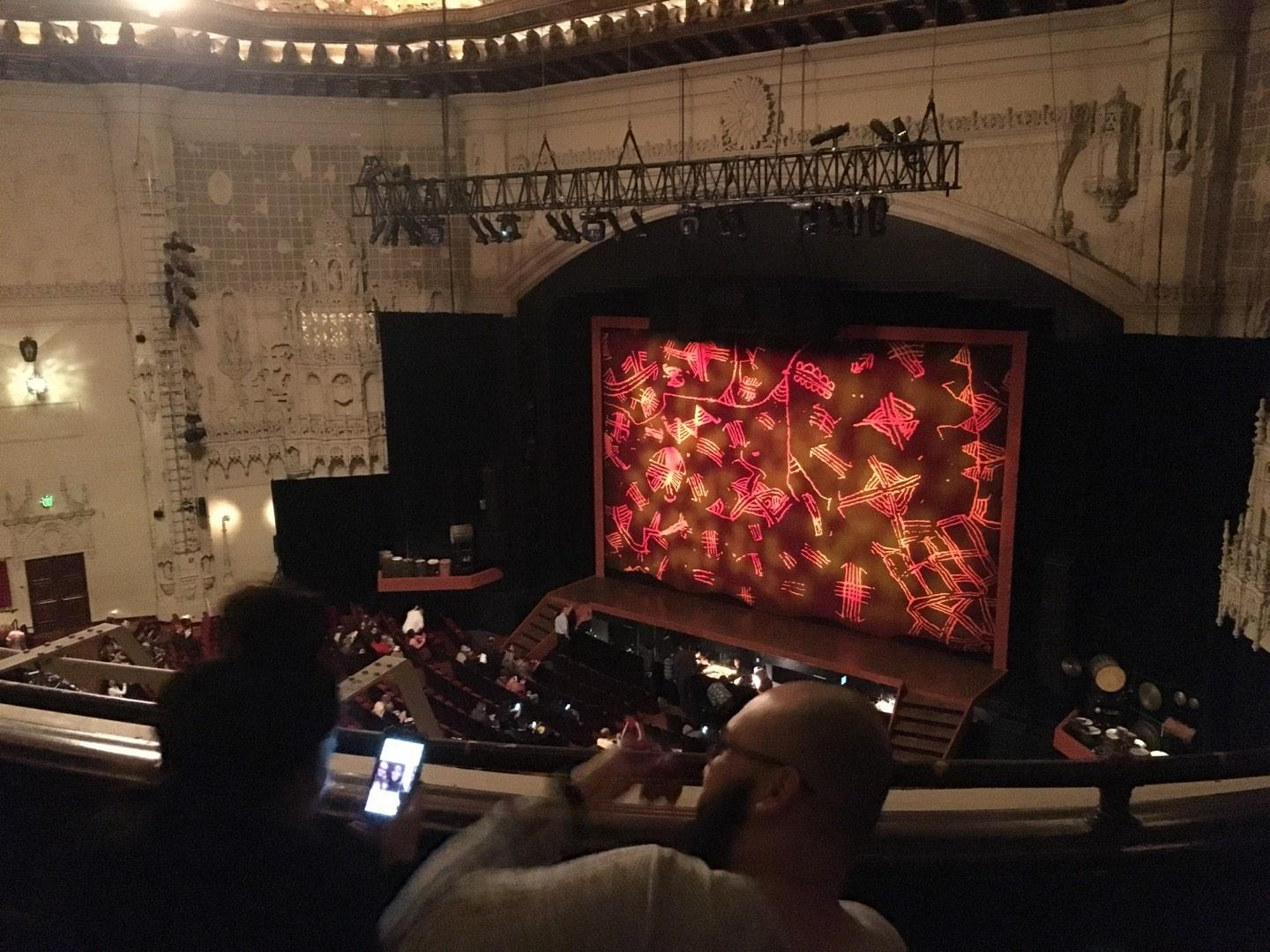 Orpheum Theatre (San Francisco) Section Balcony R Row C Seat 14