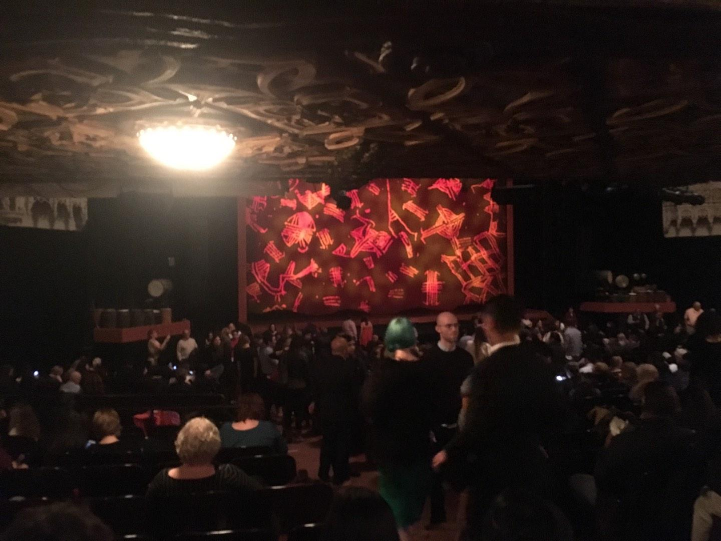 Orpheum Theatre (San Francisco) Section Orchestra R Row Cc Seat 8