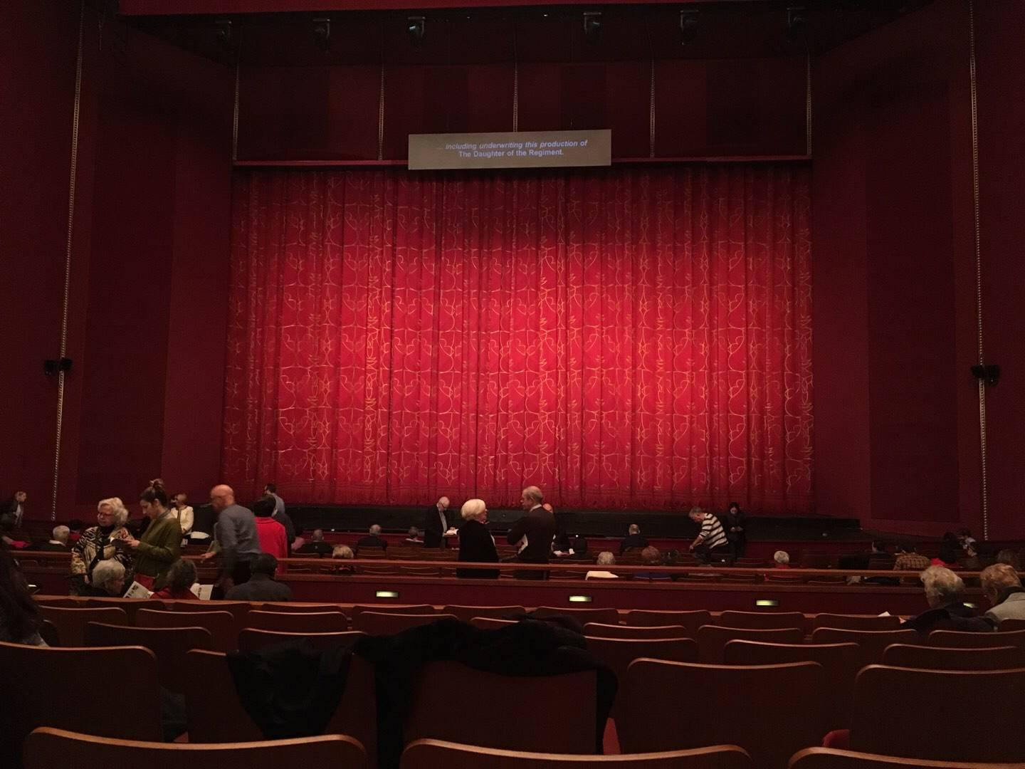 The Kennedy Center Opera House Section Orchestra C Row Y Seat 112
