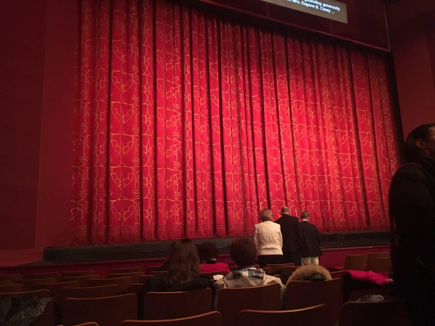 The Kennedy Center Opera House Section Orch Row P Seat 7
