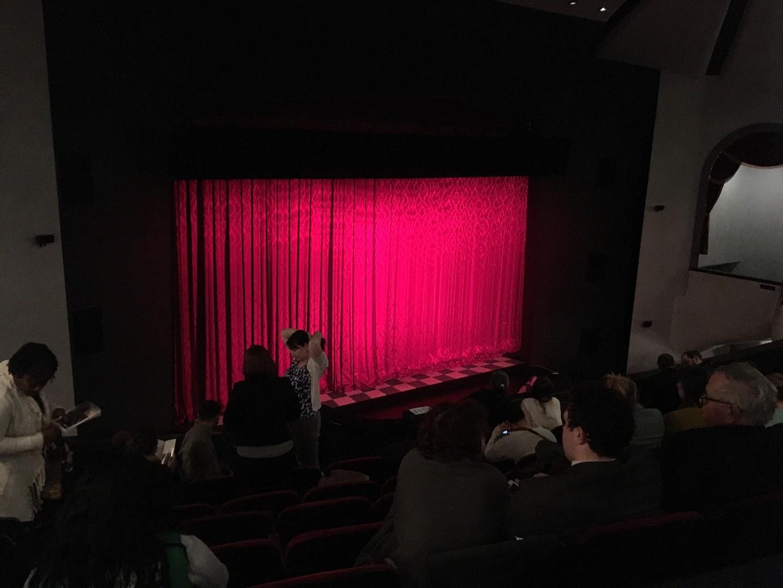Walnut Street Theatre Section Mez L Row H Seat 208