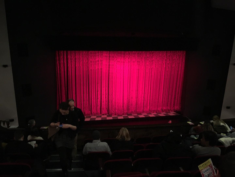Walnut Street Theatre Section Mez Center Row J Seat 115