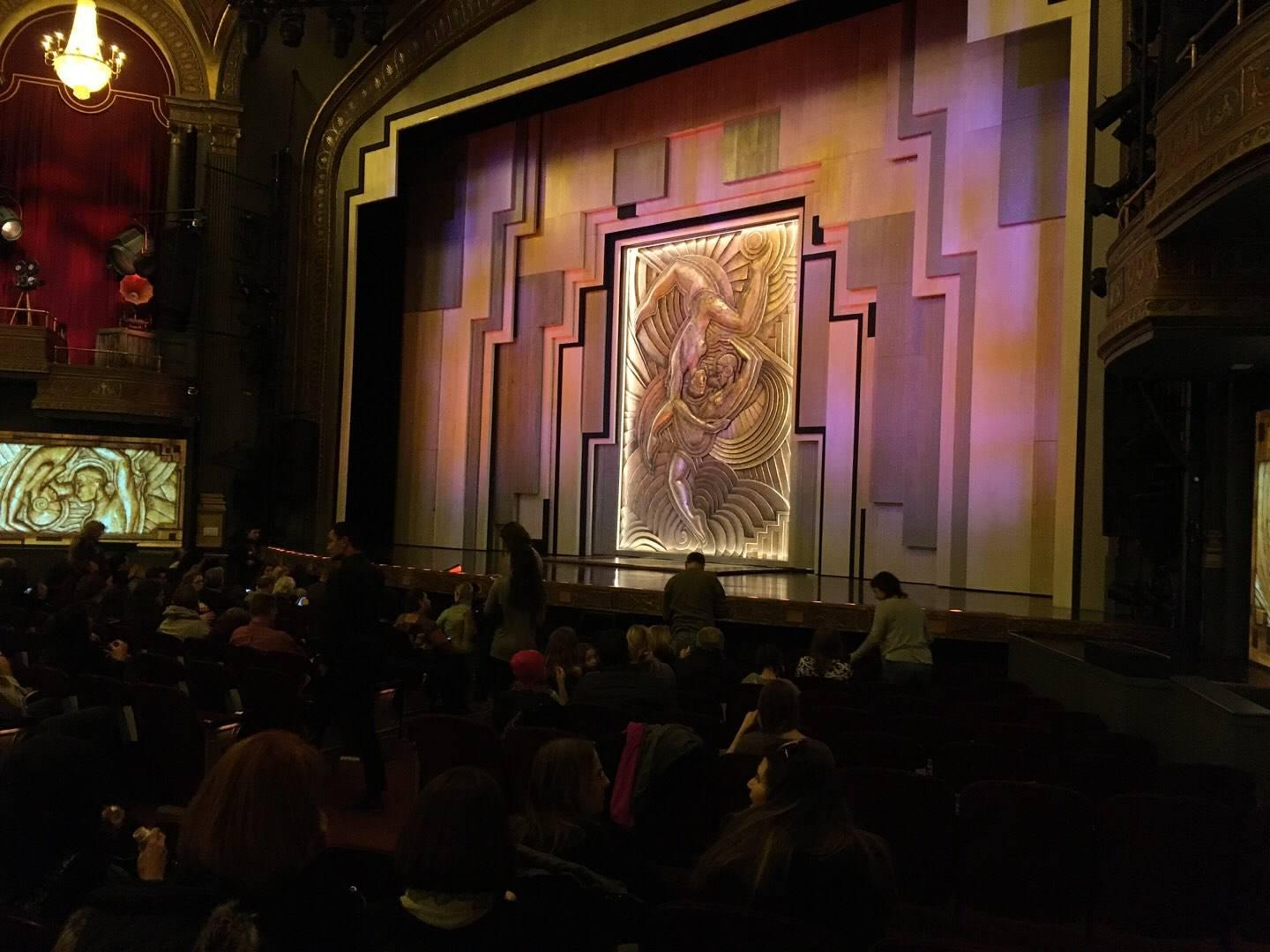 Lyric Theatre Section Orch Right Row M Seat 22