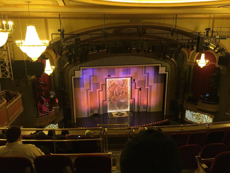 Lyric Theatre Section Balc L Row G Seat 1