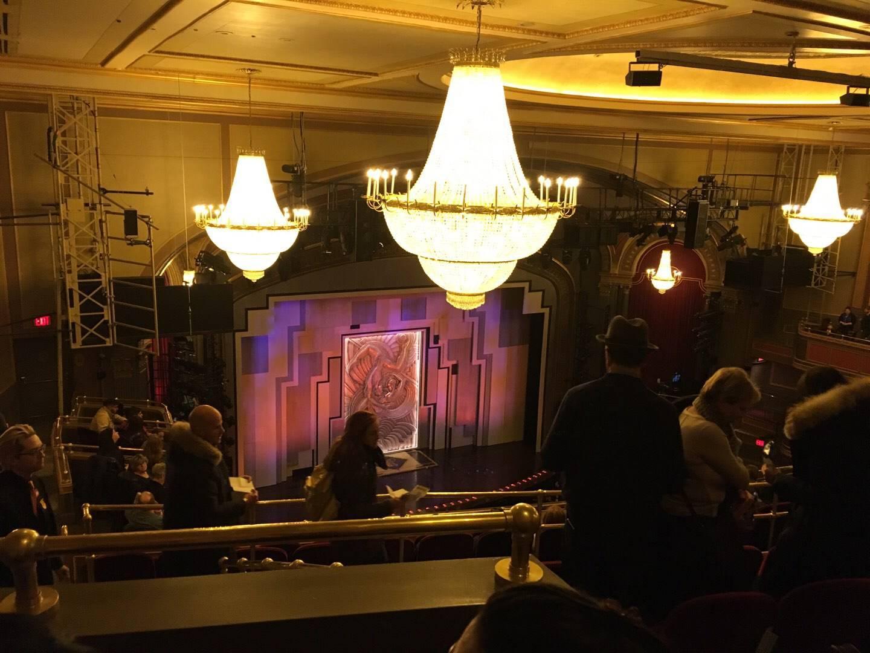 Lyric Theatre Section Balc L Row H Seat 27
