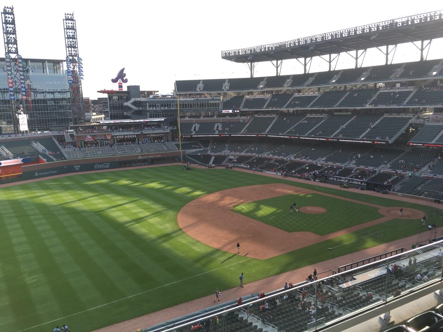 Truist Park Section 339 Row 4 Seat 11