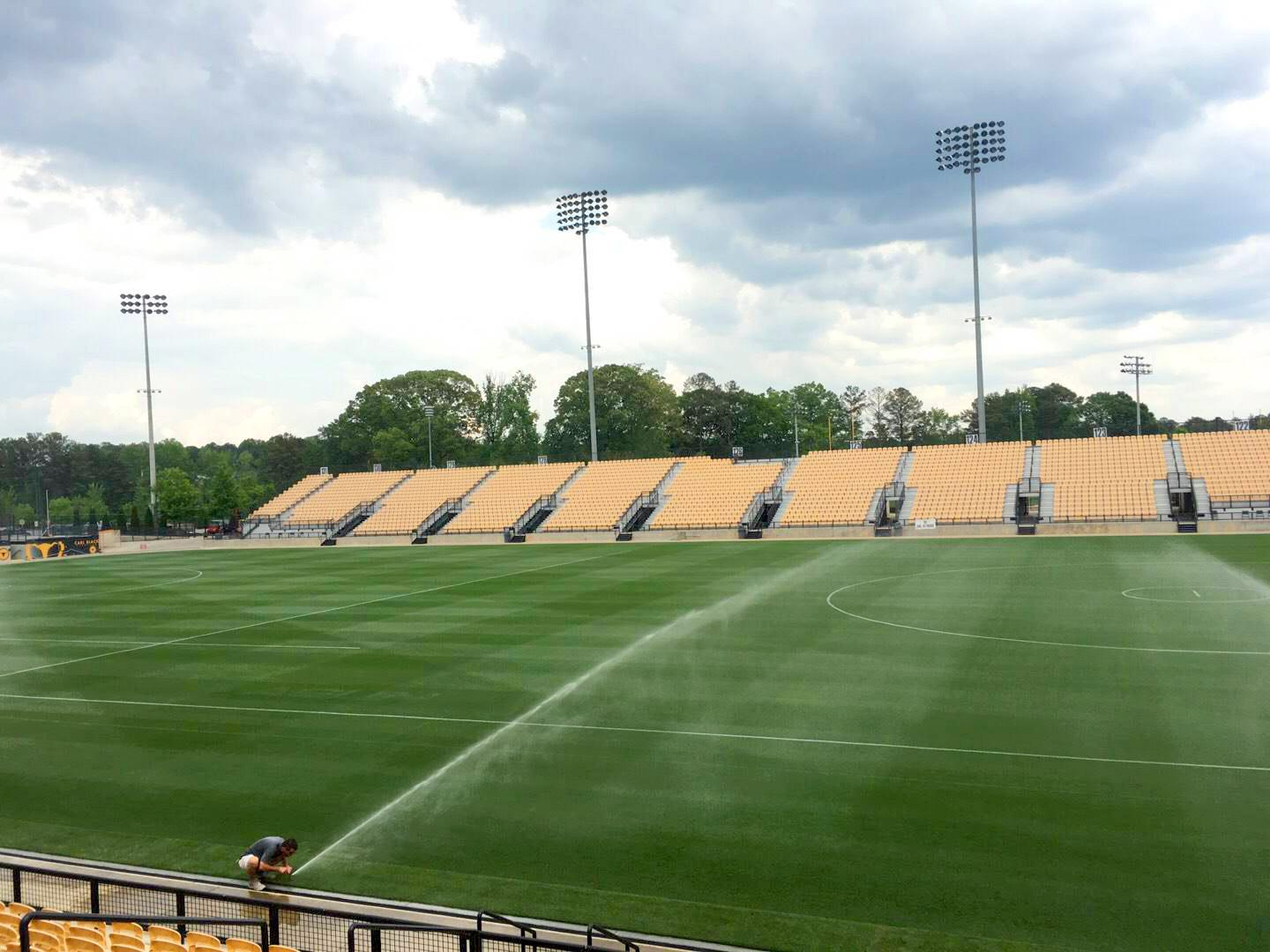 Fifth Third Bank Stadium Section 109 Row L Seat 10