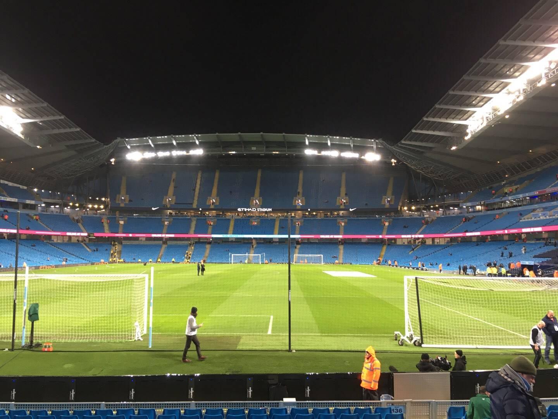 Etihad Stadium (Manchester) Section 136 Row N Seat 1000
