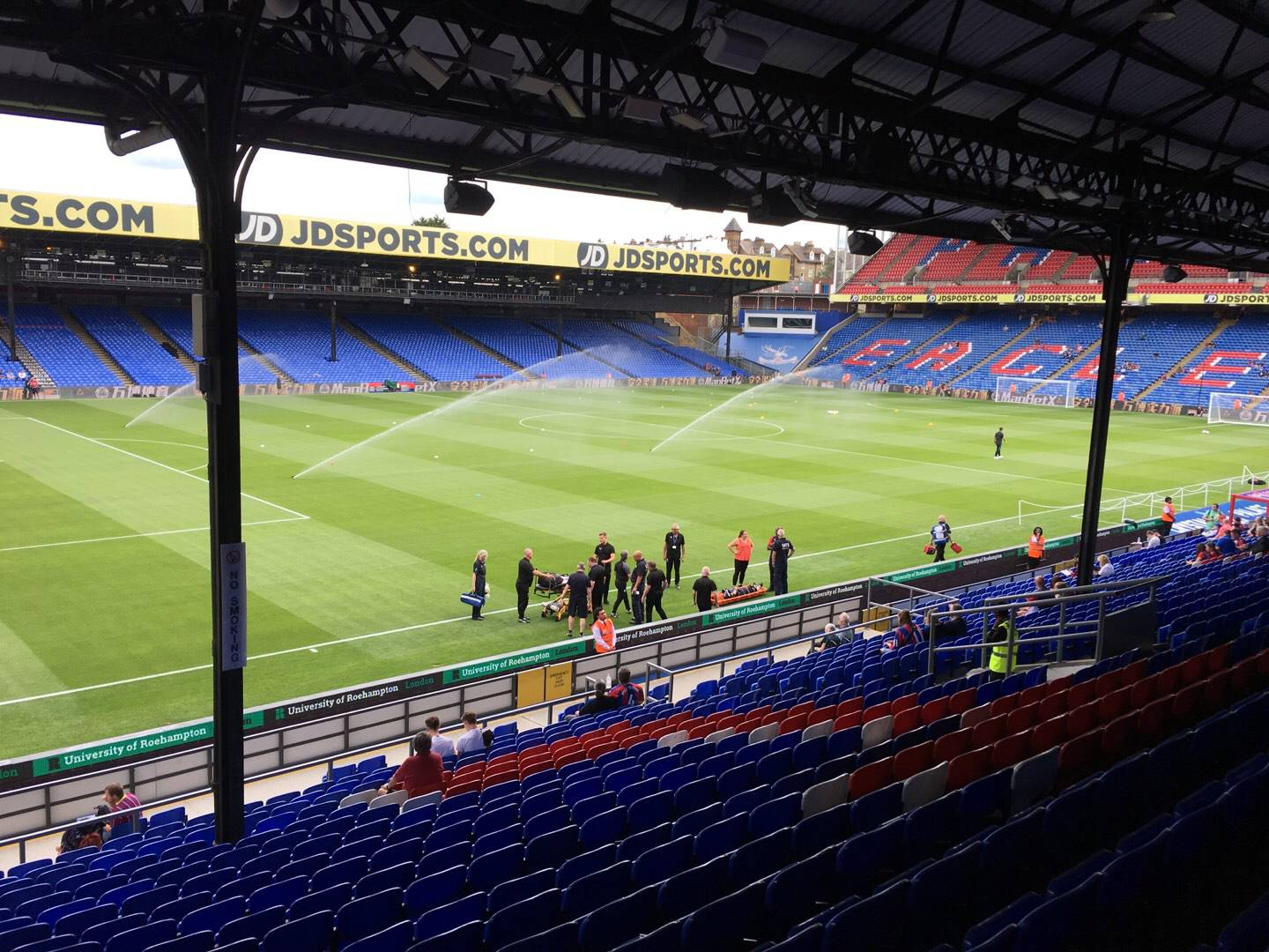 Selhurst Park Section A Row 24 Seat 20