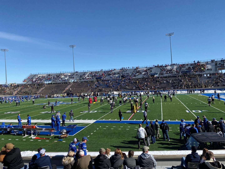 Falcon Stadium Section L6 Row N Seat 22