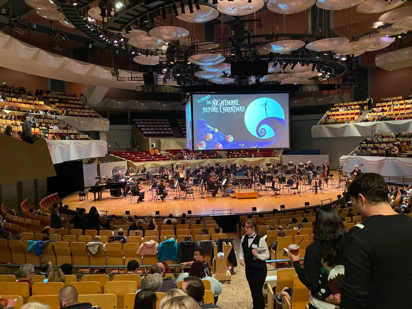 Boettcher Concert Hall Section Orch 2 Row Q Seat 12