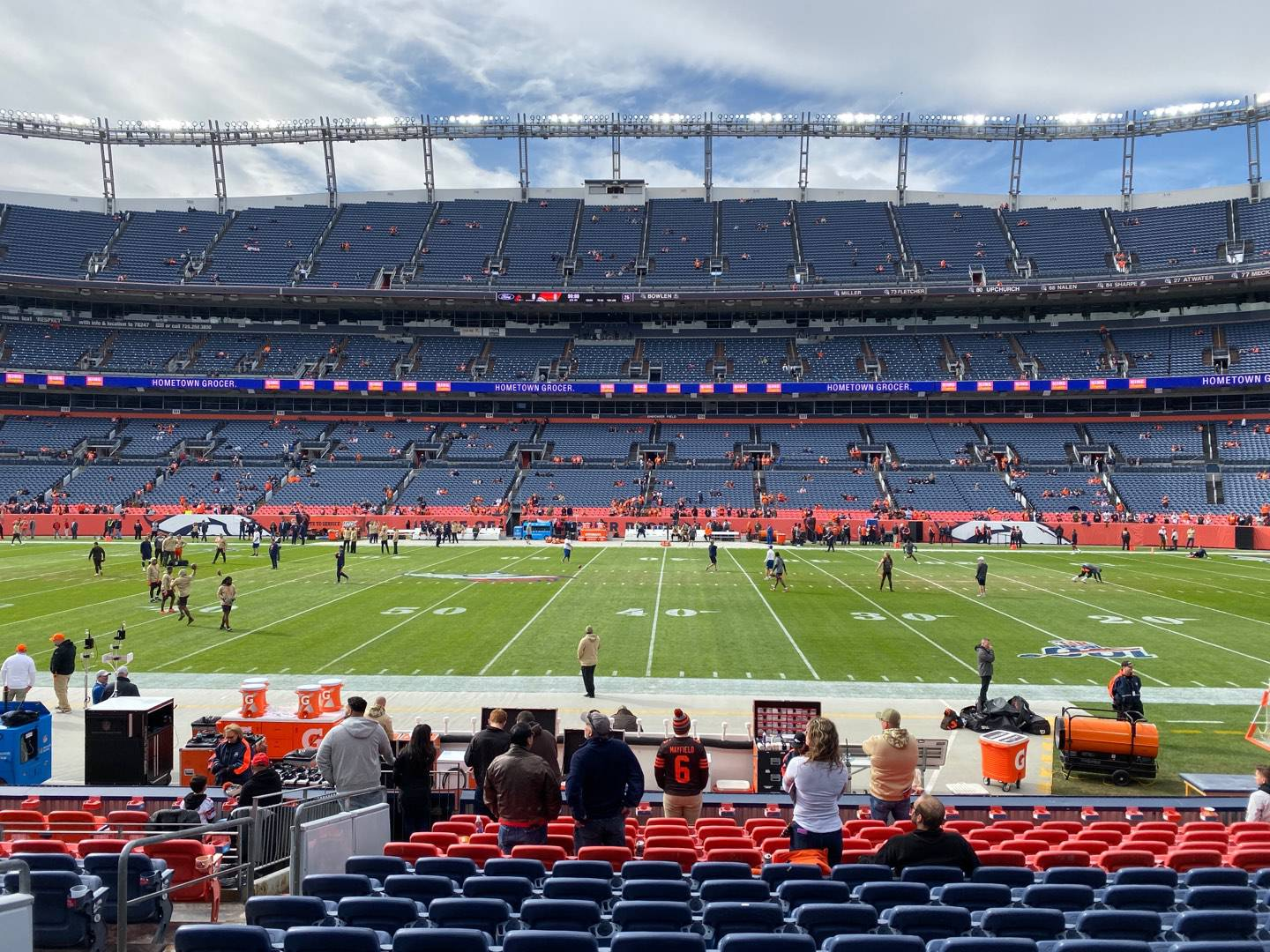 Empower Field at Mile High Stadium Section 122 Row 14 Seat 17