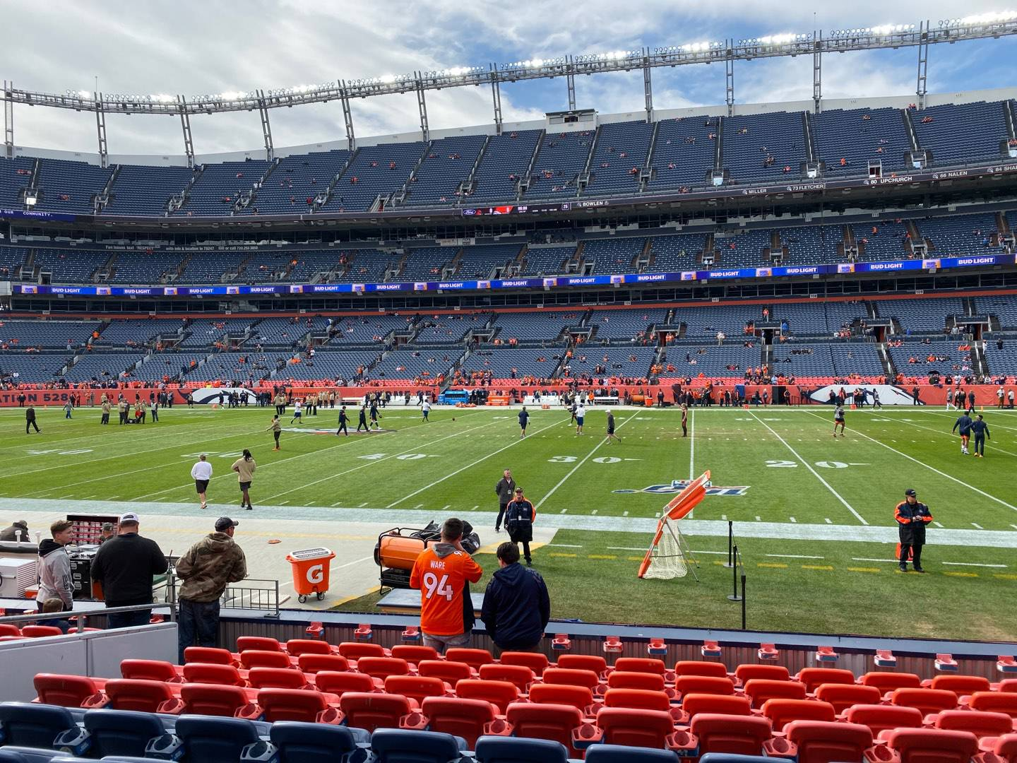 Empower Field at Mile High Stadium Section 121 Row 10 Seat 16