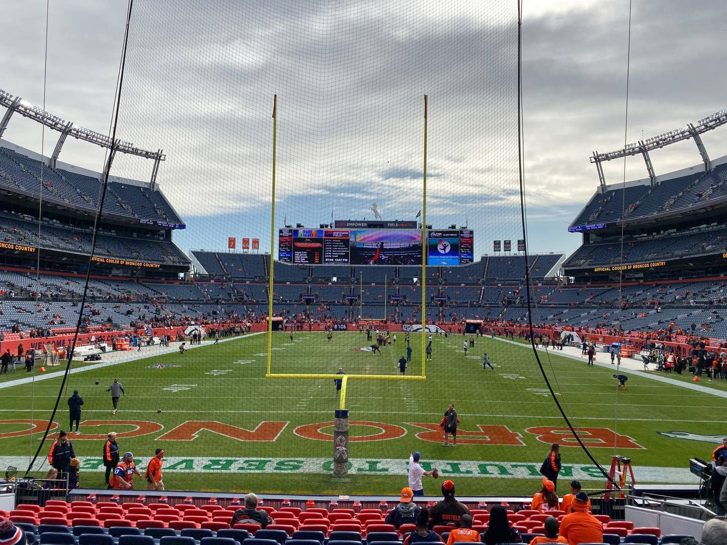 Empower Field at Mile High Stadium Section 114 Row 15 Seat 10