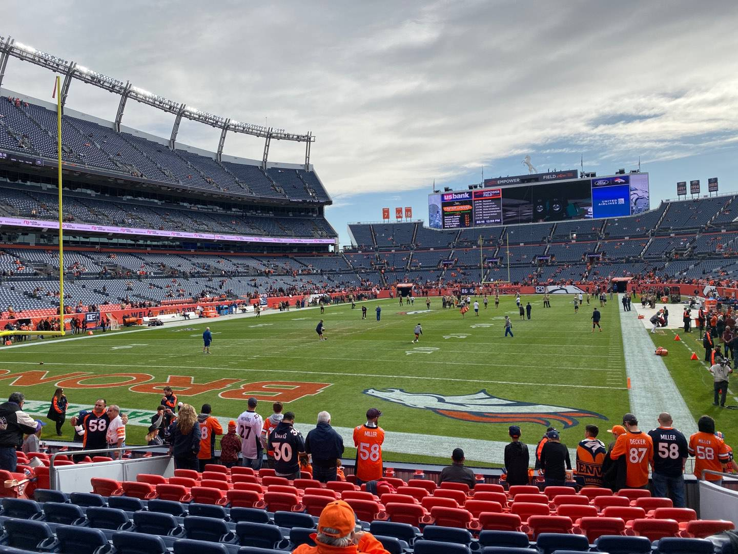 Empower Field at Mile High Stadium Section 112 Row 12 Seat 6