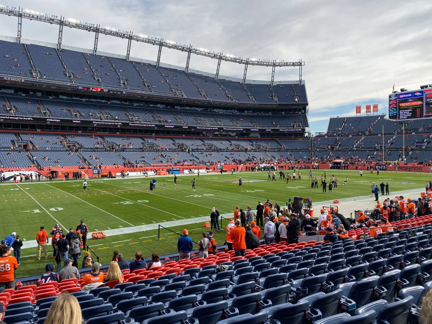 Empower Field at Mile High Stadium Section 108 Row 15 Seat 19