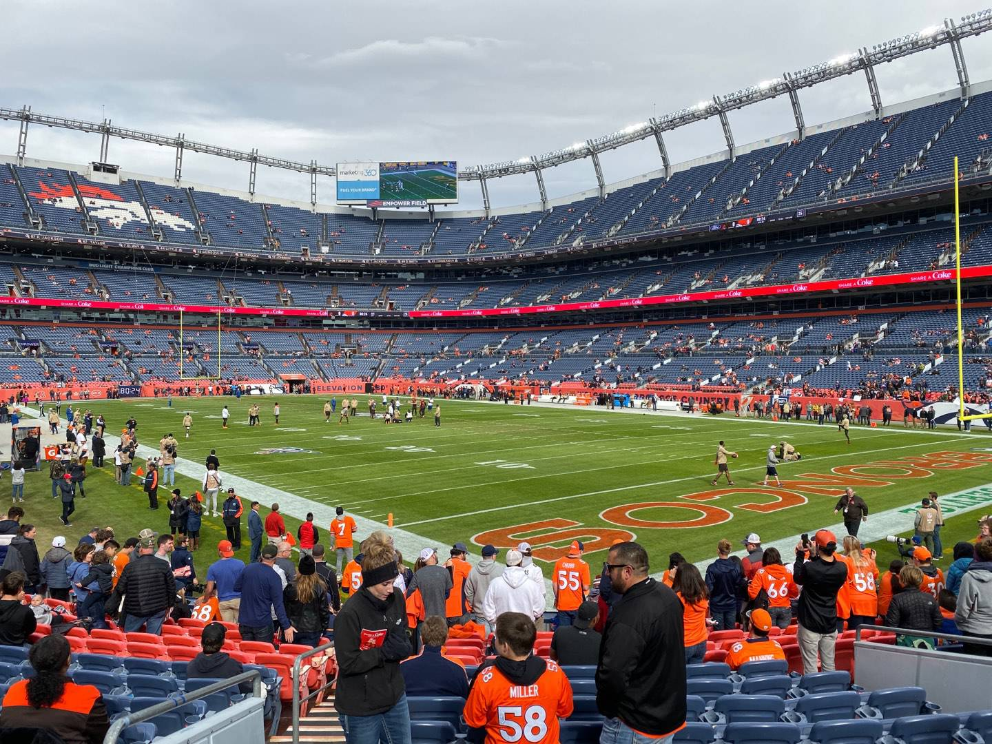Empower Field at Mile High Stadium Section 135 Row 14 Seat 21