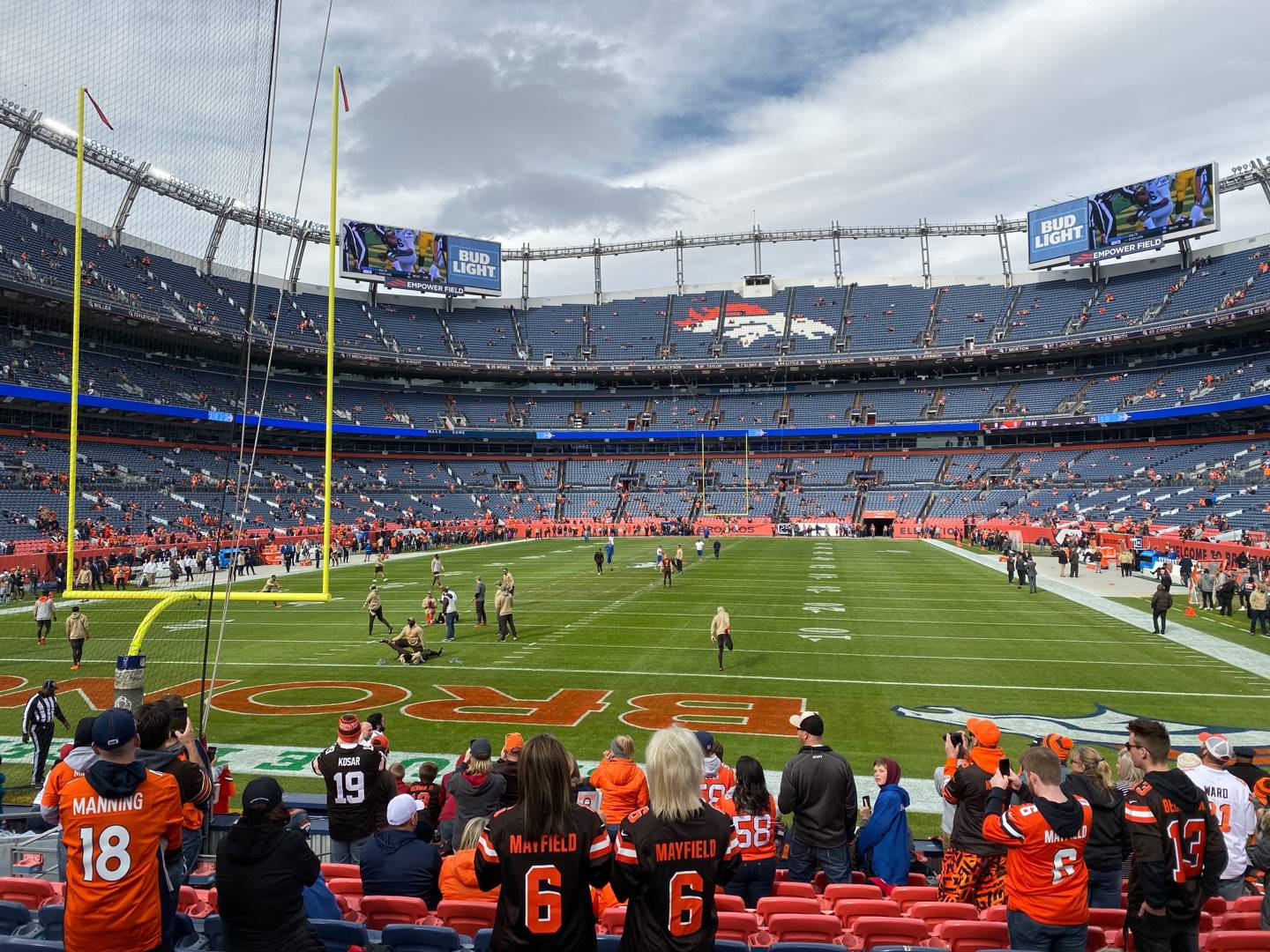 Empower Field at Mile High Stadium Section 131 Row 12 Seat 10