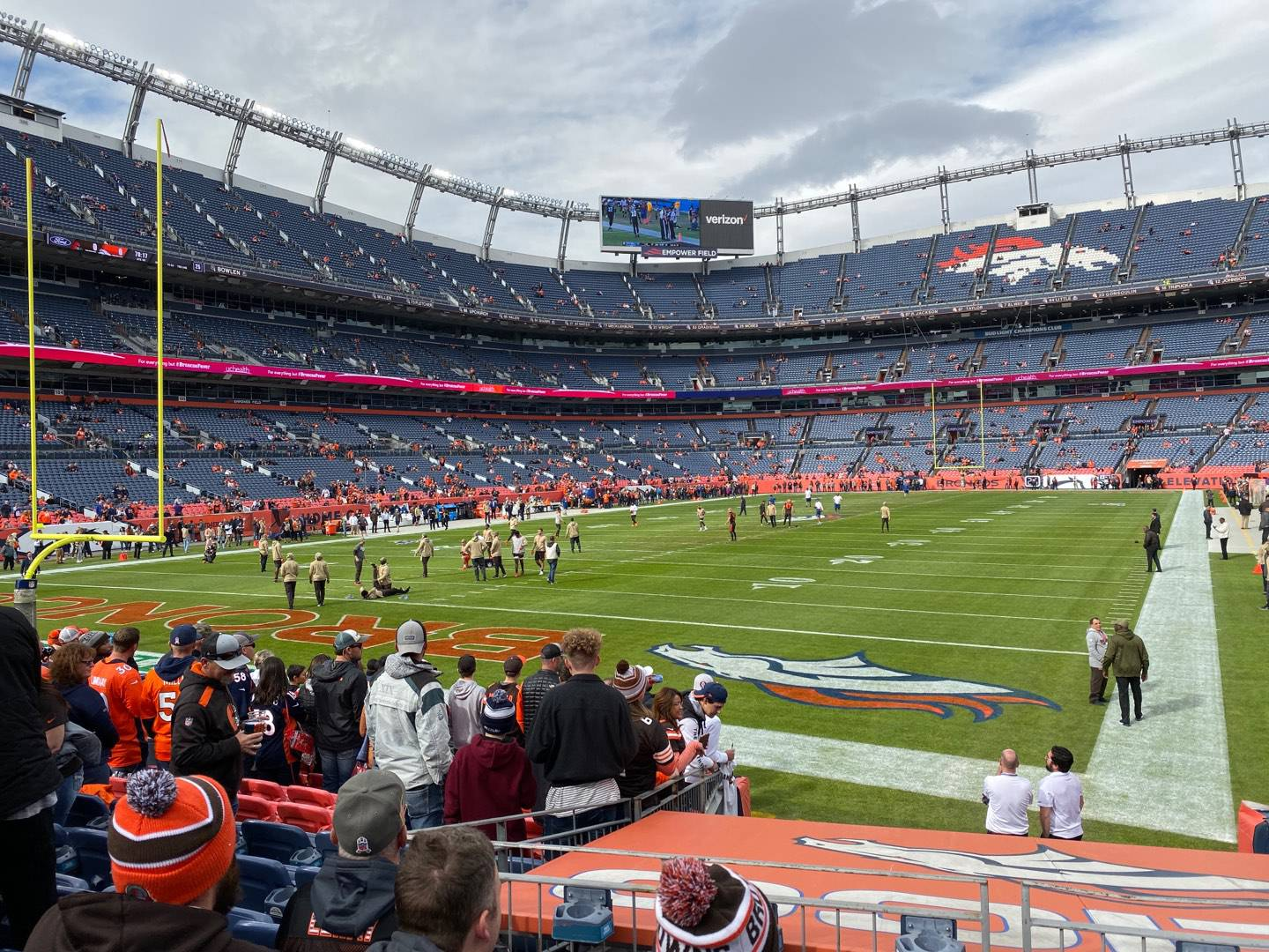 Empower Field at Mile High Stadium Section 130 Row 11 Seat 23