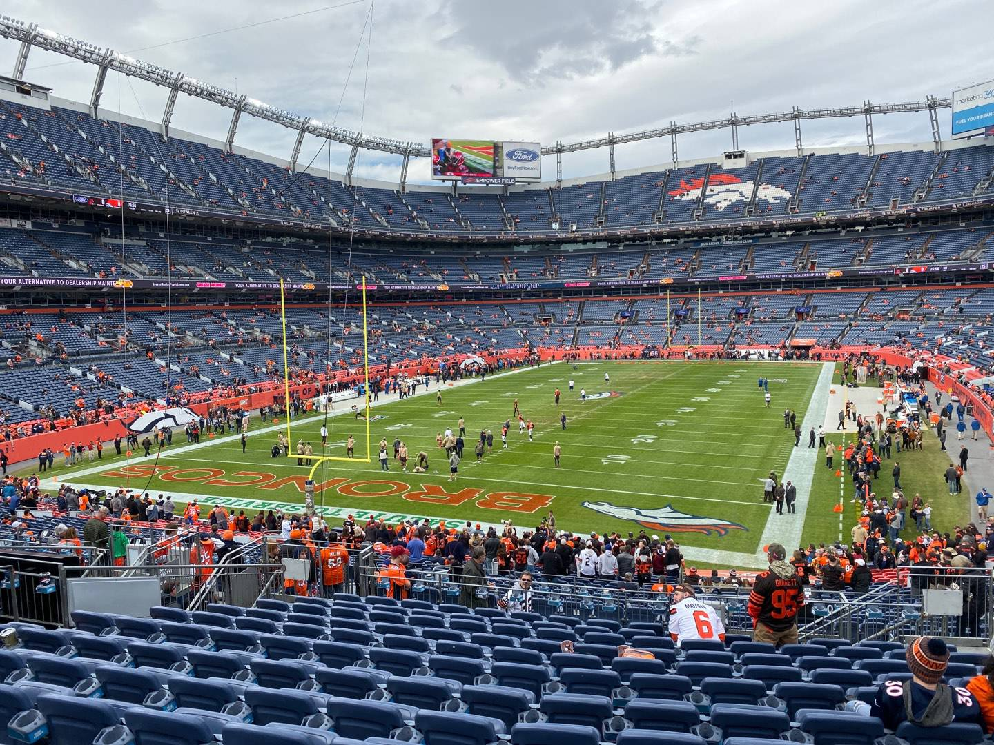Empower Field at Mile High Stadium Section 130 Row 37 Seat 7