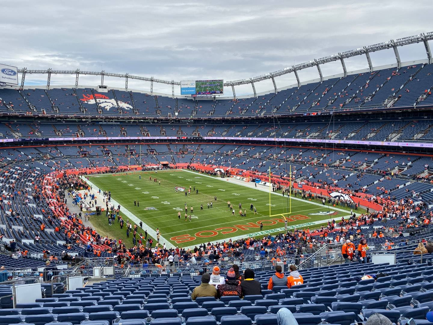 Empower Field at Mile High Stadium Section 235 Row 22 Seat 20