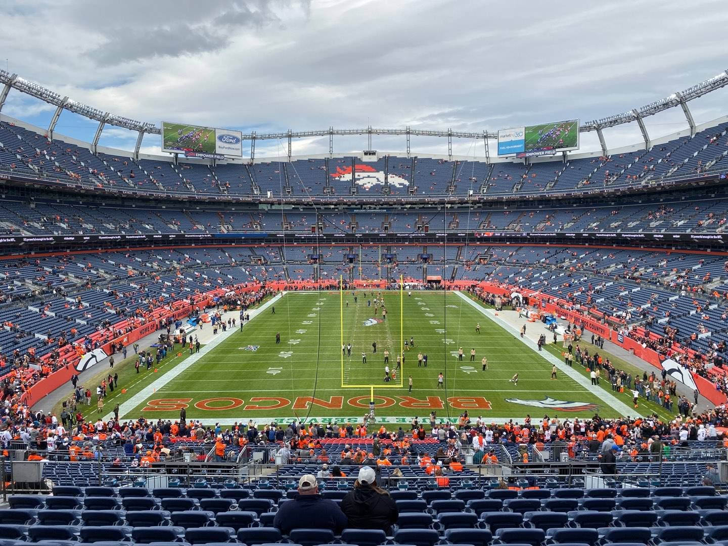 Empower Field at Mile High Stadium Section 232 Row 11 Seat 15