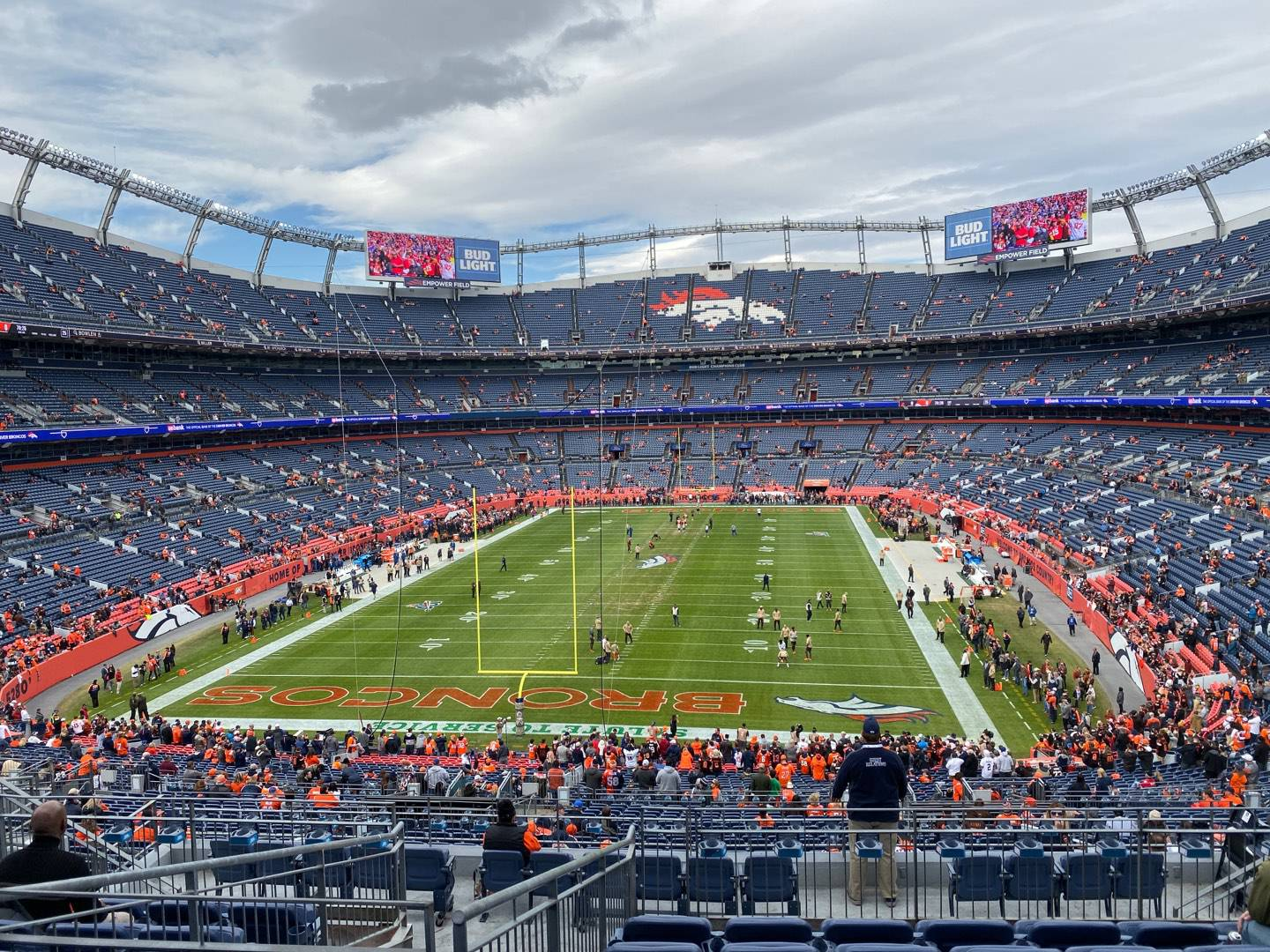 Empower Field at Mile High Stadium Section 231 Row 11 Seat 12