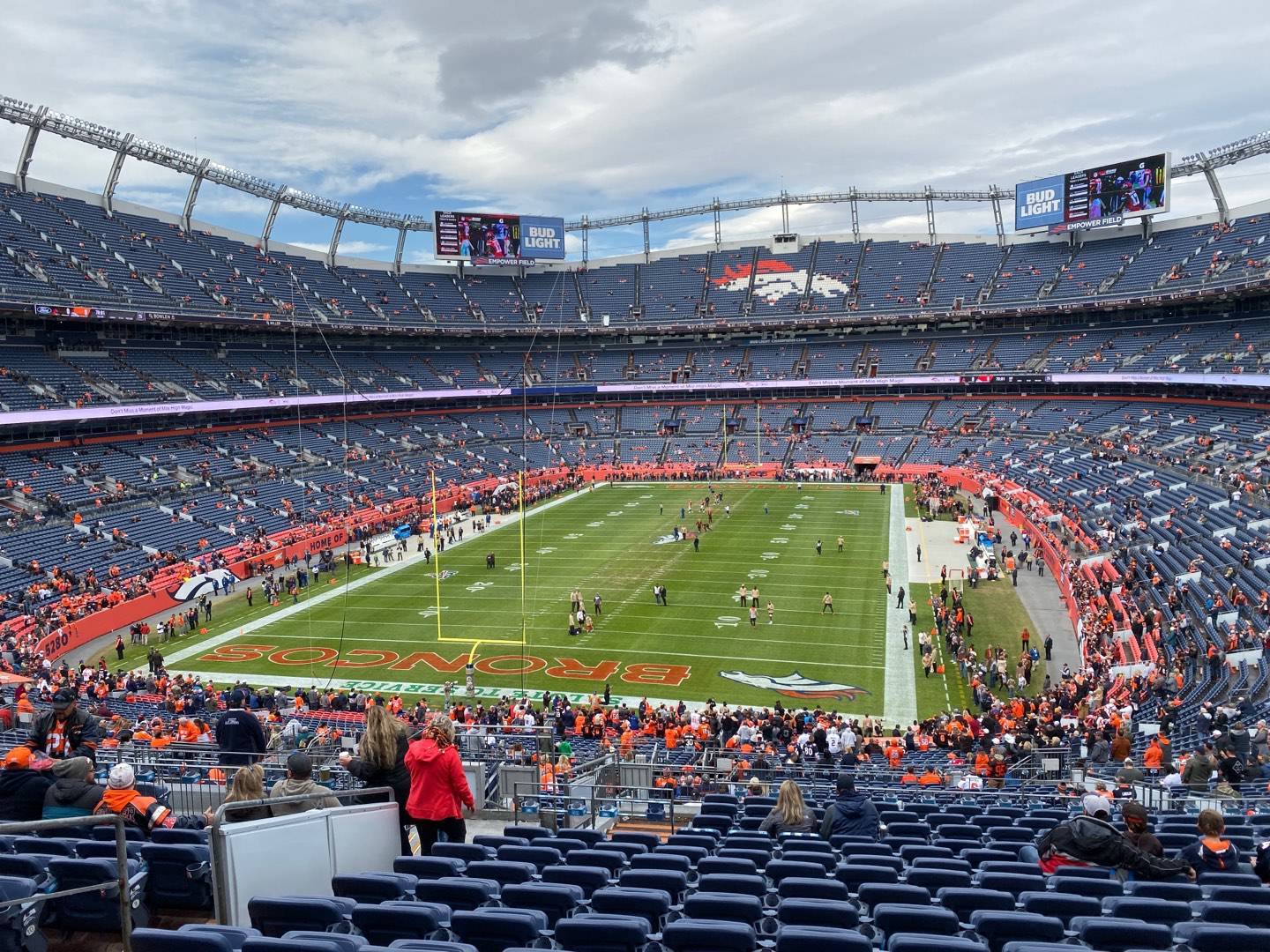 Empower Field at Mile High Stadium Section 230 Row 16 Seat 23