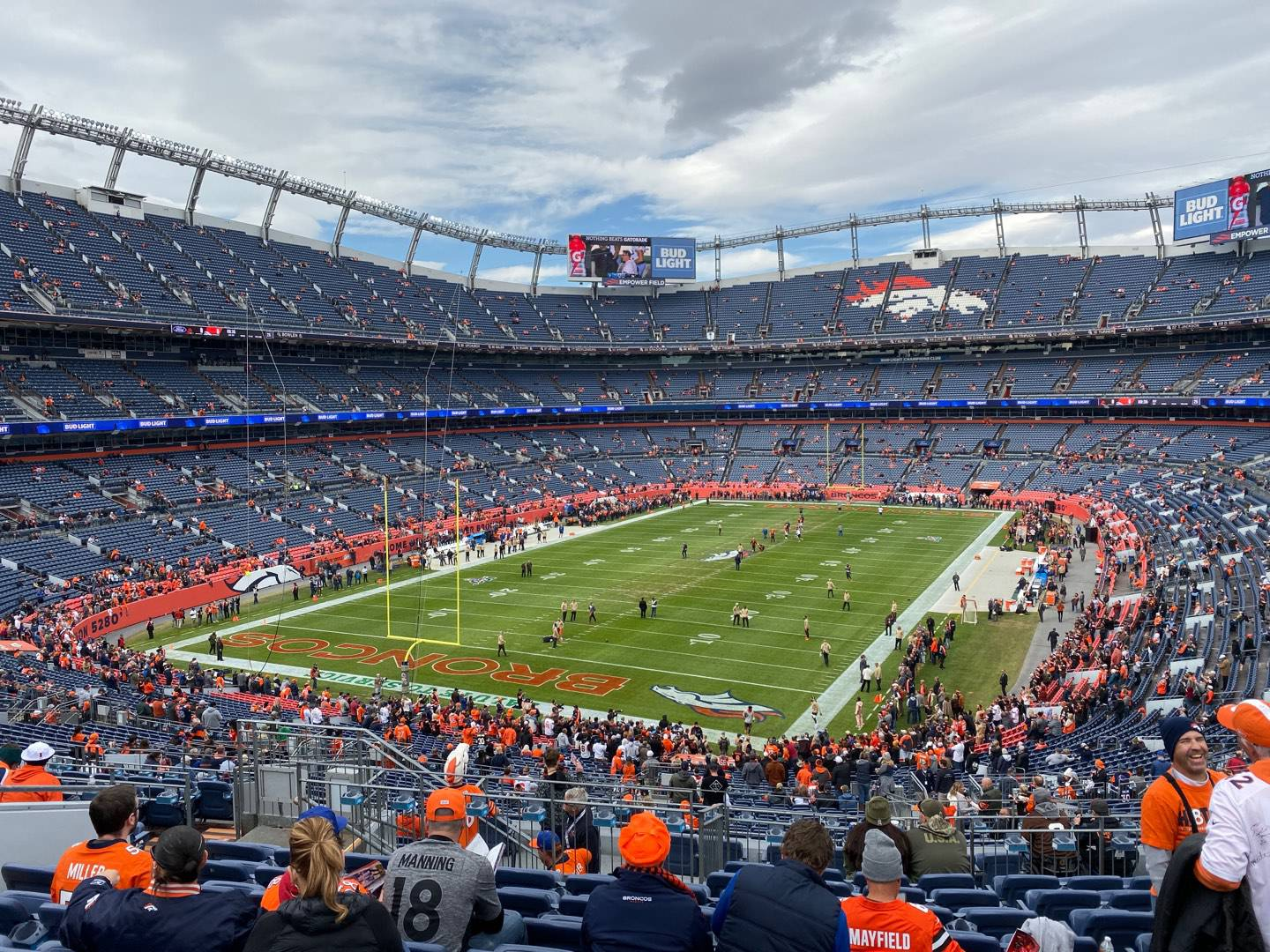 Empower Field at Mile High Stadium Section 229 Row 14 Seat 16