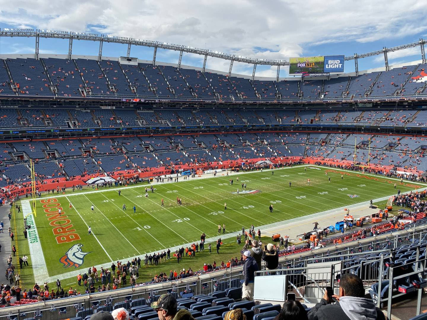 Empower Field at Mile High Stadium Section 343 Row 14 Seat 9