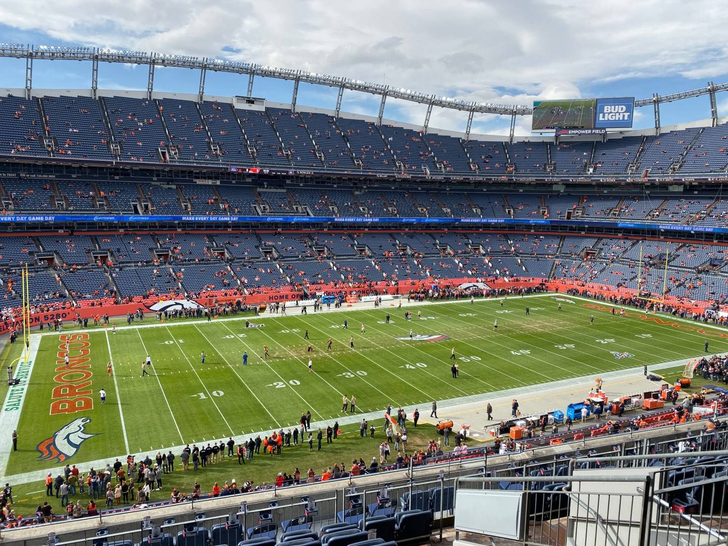 Empower Field at Mile High Stadium Section 342 Row 12 Seat 7
