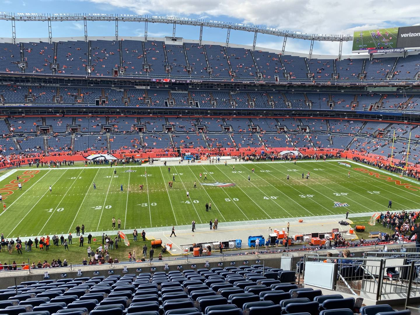 Empower Field at Mile High Stadium Section 339 Row 14 Seat 8