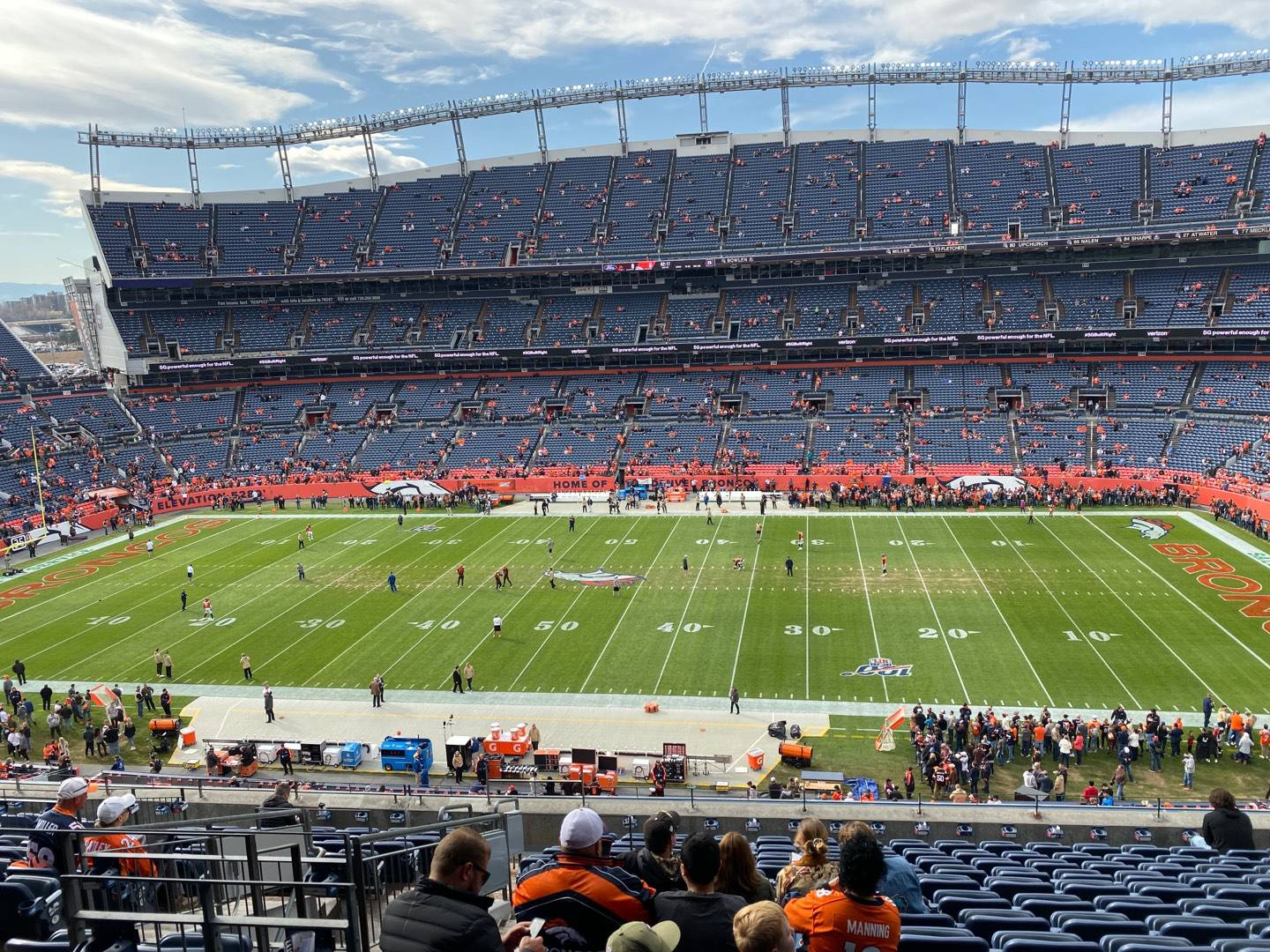 Empower Field at Mile High Stadium Section 335 Row 14 Seat 12
