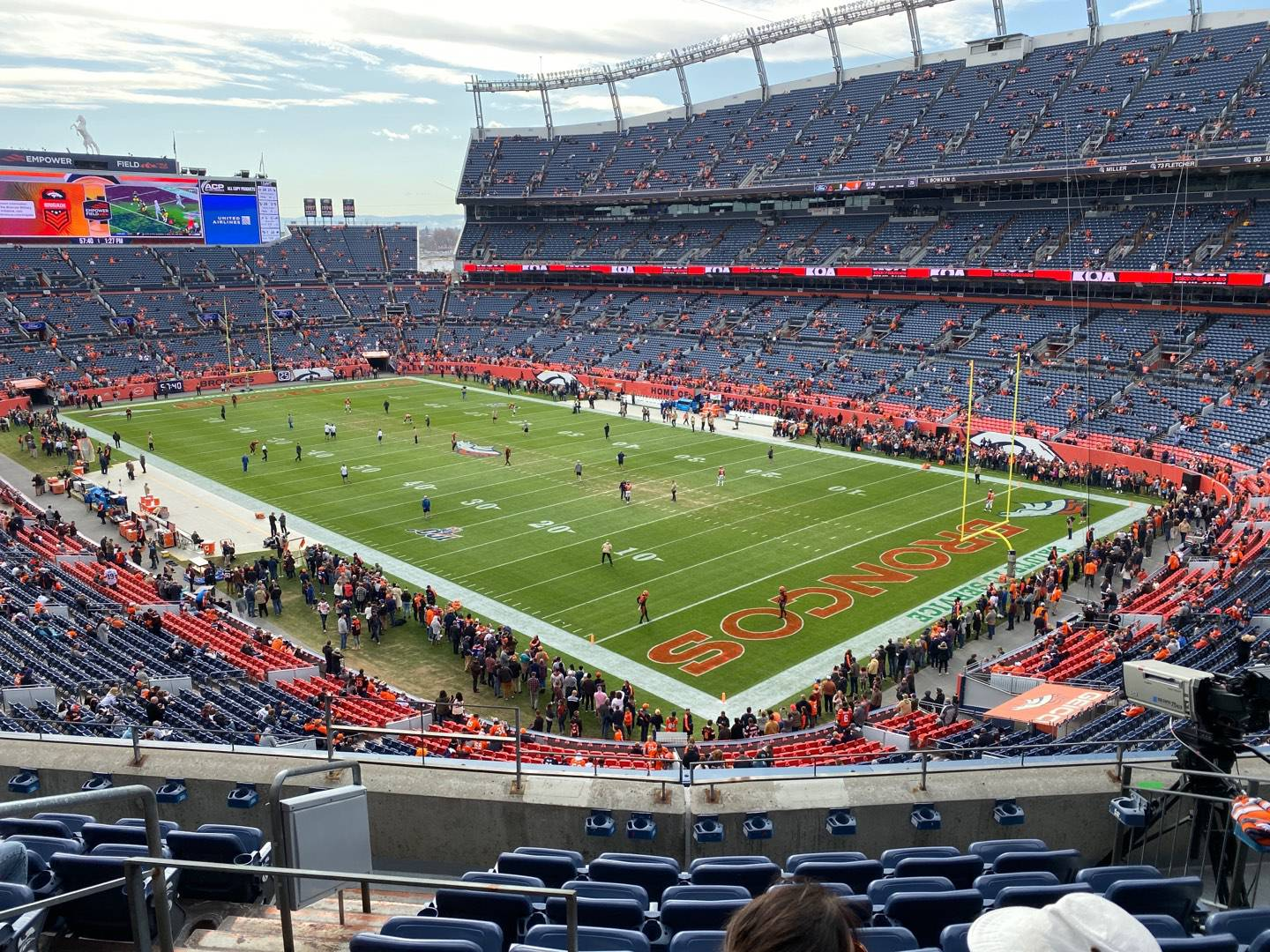 Empower Field at Mile High Stadium Section 328 Row 7 Seat 13