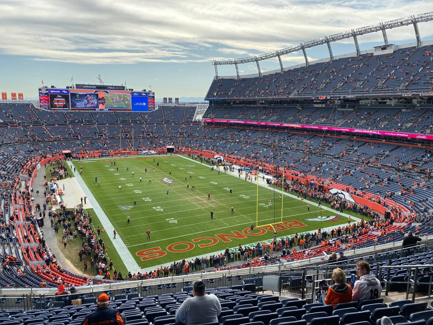 Empower Field at Mile High Stadium Section 326 Row 17 Seat 9